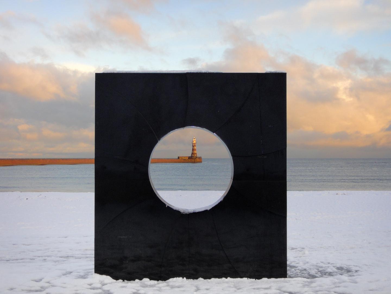 Leuchtturm am Roker Beach, Sunderland