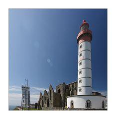 Leuchtturm auf historischem Terrain