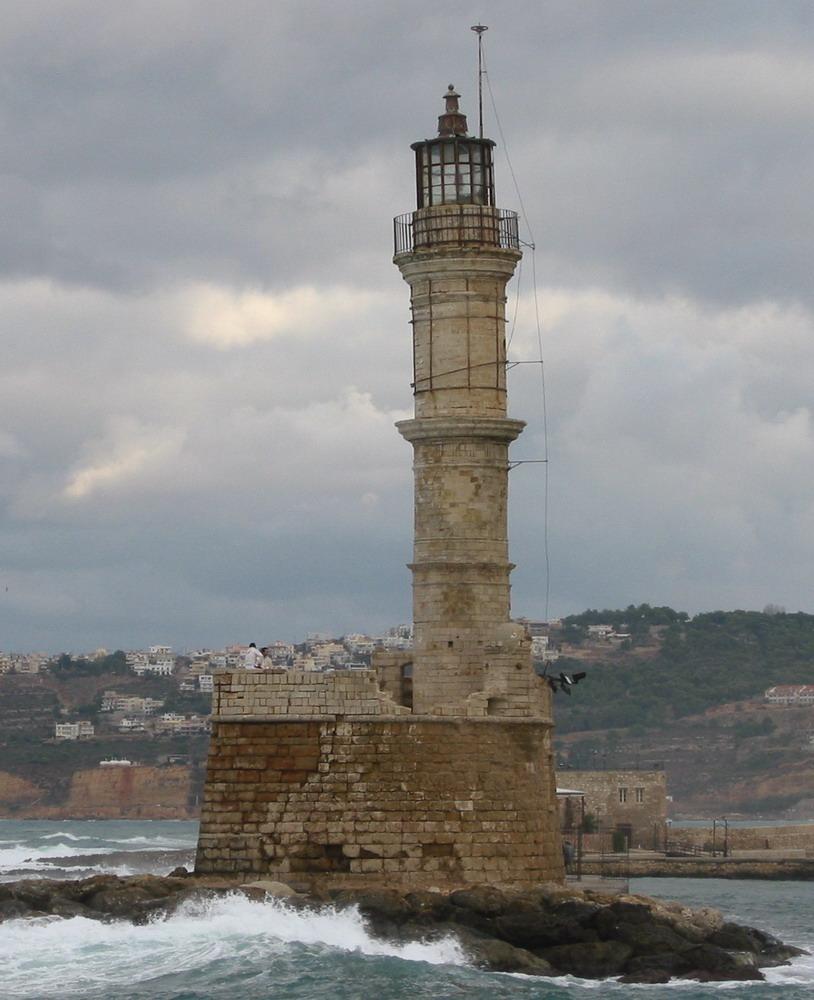 Leuchtturm auf Kreta
