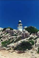Leuchtturm auf Menorca am Cap de Cavalleria (Spanien) 6