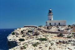 Leuchtturm auf Menorca am Cap de Cavalleria (Spanien) 7