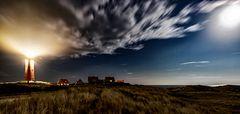 _Leuchtturm bei Nacht-Eierland-Insel-Texel