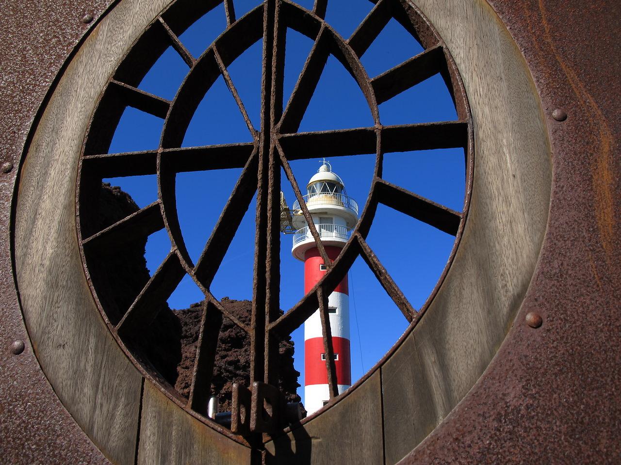Leuchtturm bein Teno, Teneriffa