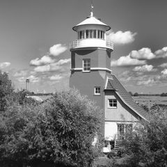 Leuchtturm Brockdorf, Unterelbe