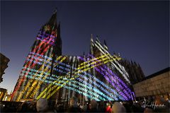 Leuchtturm des Friedens in Köln ...