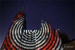 Leuchtturm des Friedens in Köln ... Rut & Wiess