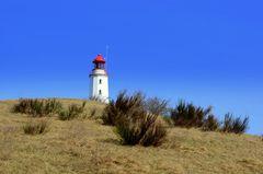 Leuchtturm Dornbusch hinterm Berg