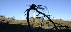 Leuchtturm Dornbusch im Februar