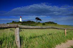 Leuchtturm Dornbusch im Mai