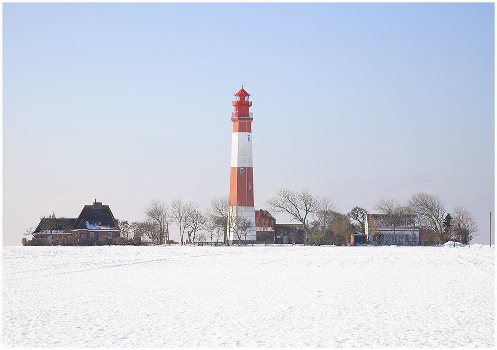 Leuchtturm Flügge auf Fehmarn...