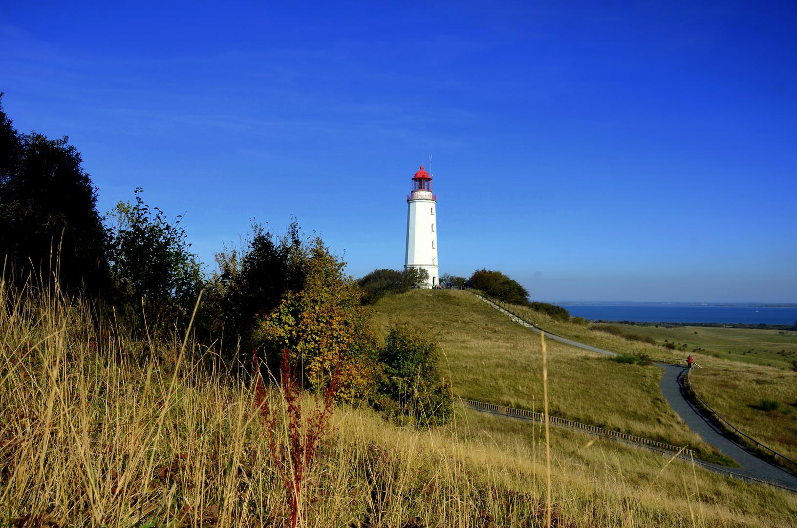 Leuchtturm im Oktober