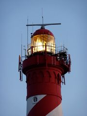 Leuchtturm in Burg-Hamstede (Niederlande) 1