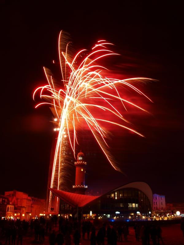 Leuchtturm in Flammen I