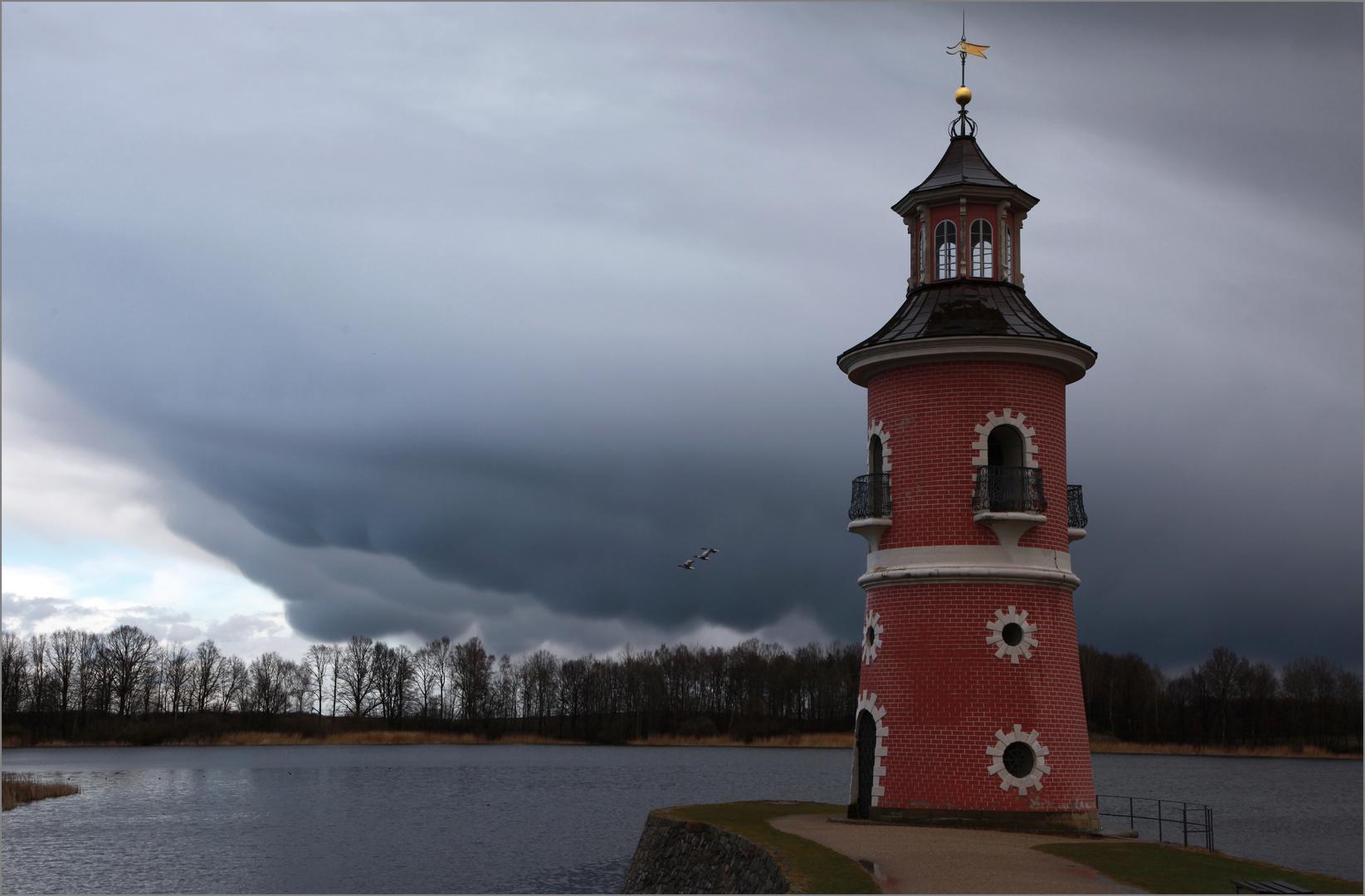 more photos 365d3 e167e Leuchtturm in Moritzburg bei Dresden 2 Foto & Bild ...
