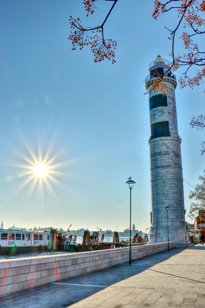 Leuchtturm in Murano