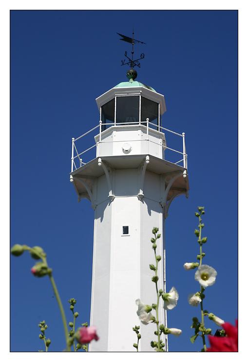 Leuchtturm in Roenne/Bornholm