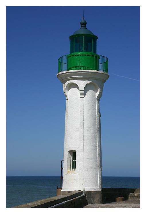 Leuchtturm in St. Valery en Caux ...