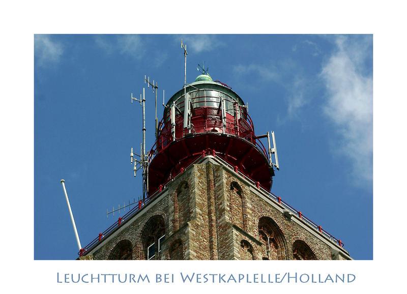Leuchtturm in Westkapelle/Holland