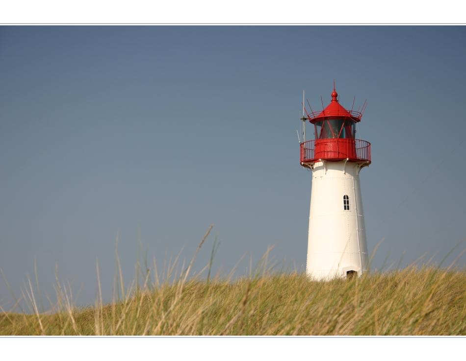 Leuchtturm List-West auf Sylt