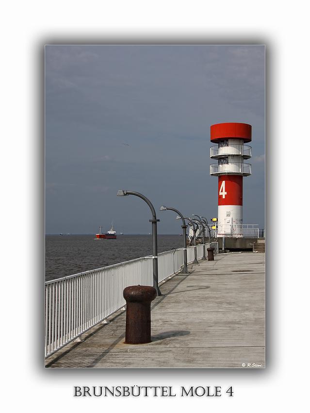 Leuchtturm Mole 4
