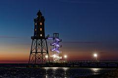 Leuchtturm Obereversand in Dorum