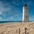 Leuchtturm Rubjerg Knude in Westjütland