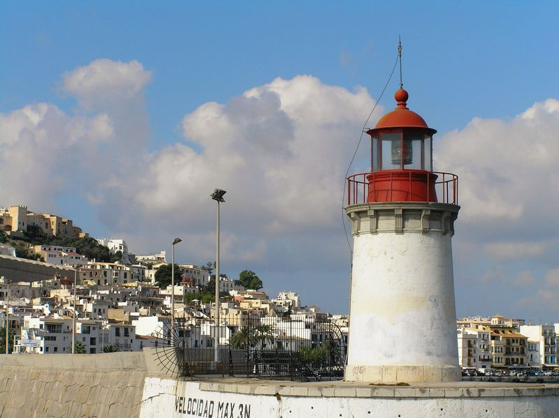 Leuchtturm vor Ibiza