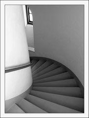 Leuchtturmtreppe 2. Versuch