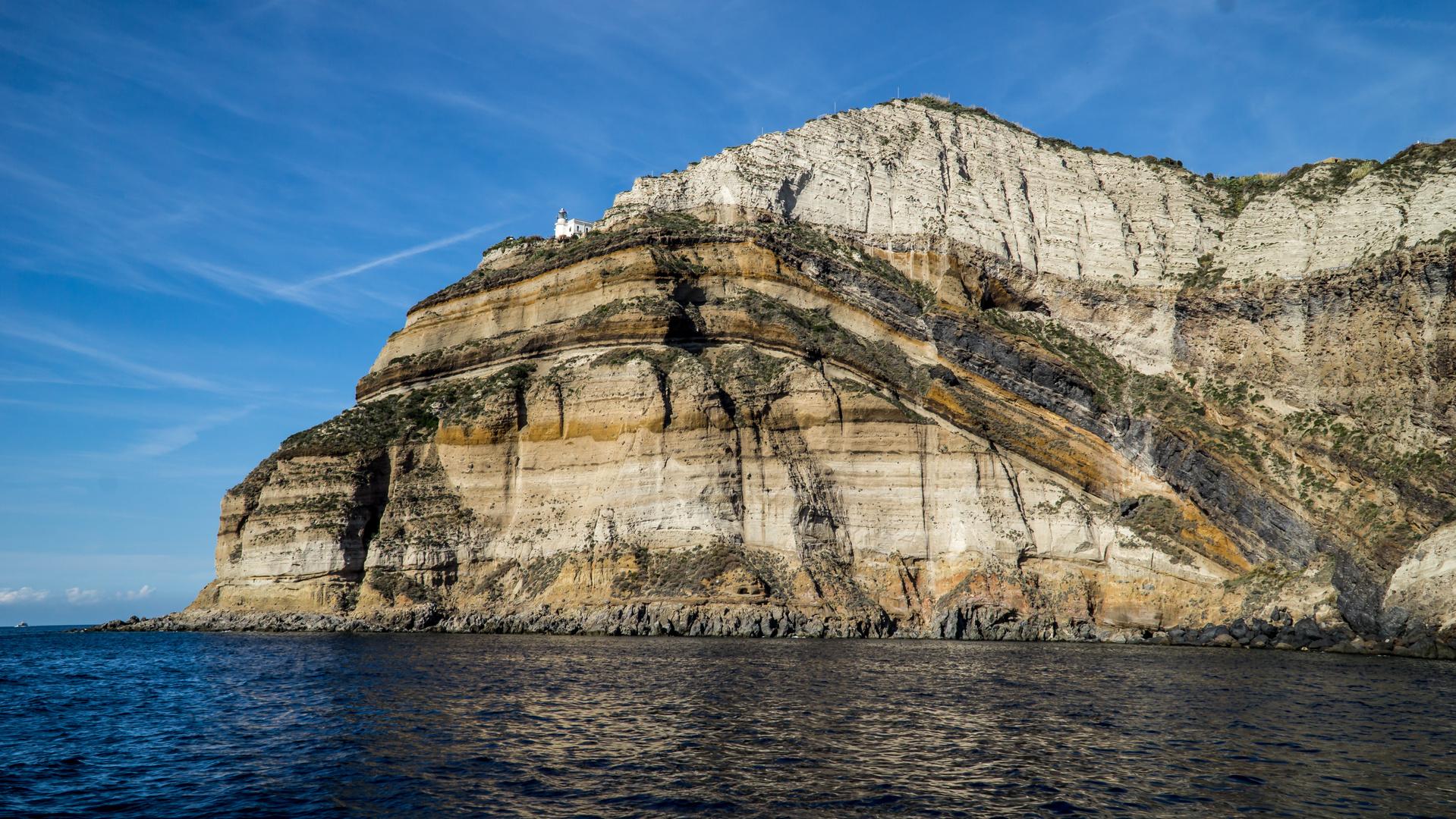 Leuchturm bei Forio/Ischia