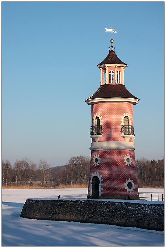 Leuchturm in Moritzburg