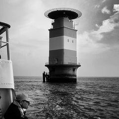 Leuchturm Mellumplate, Deutsche Bucht
