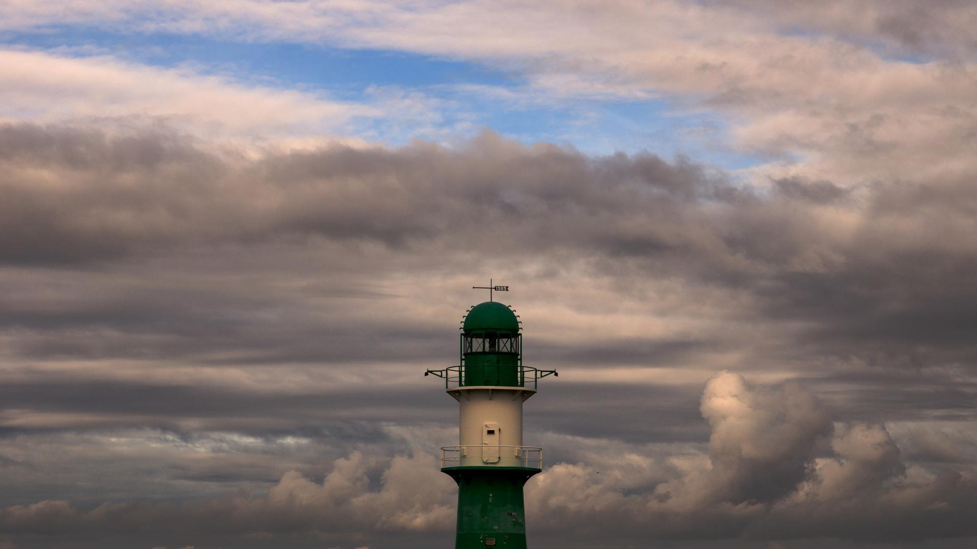 Leuchturm Steuerbord