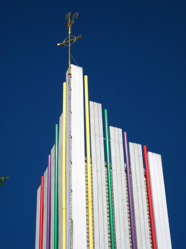 Leutenbach - Kirchturm Evang. Johannes-Kirche