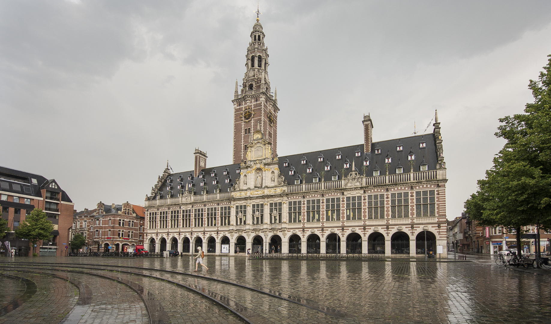 Leuven - Ladeuzeplein - University Library - 03