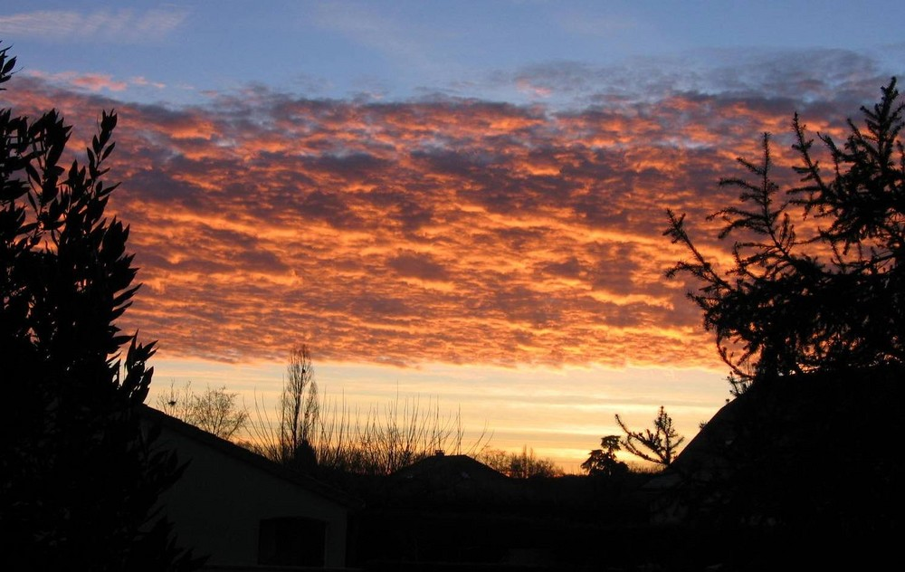 levé de soleil dans le sud ouest