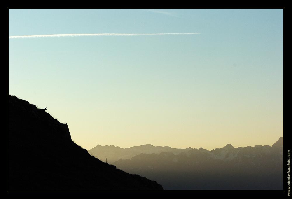 Lever de soleil en Chartreuse