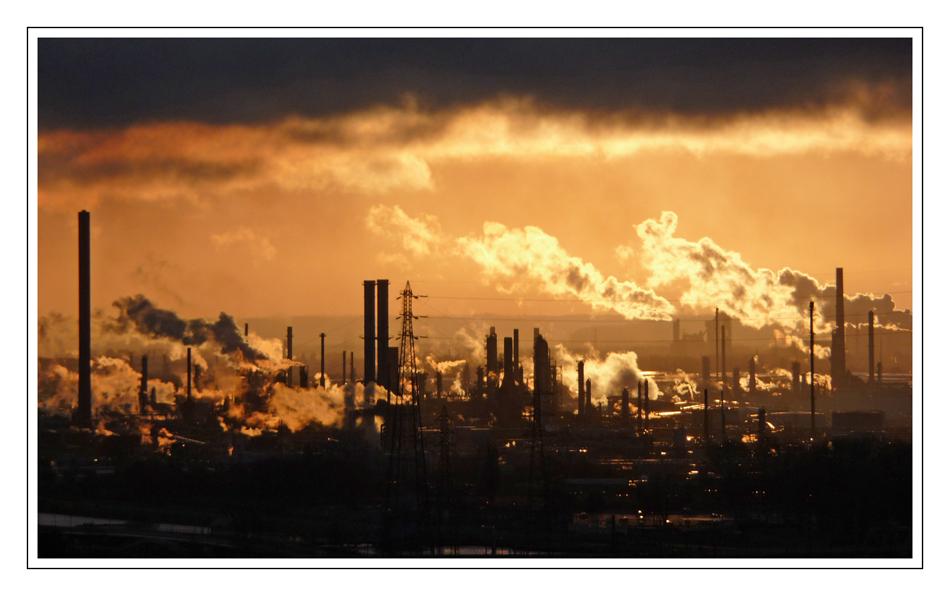 Lever de soleil sur l'industrie...