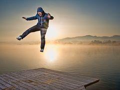 Levitation mit Georg