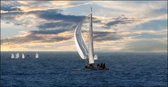 Lezione di vela -Leçon de voile