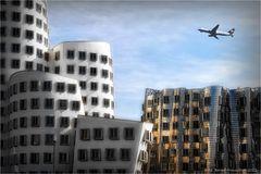 LH 2790  Düsseldorf - Medienhafen - Nürnberg