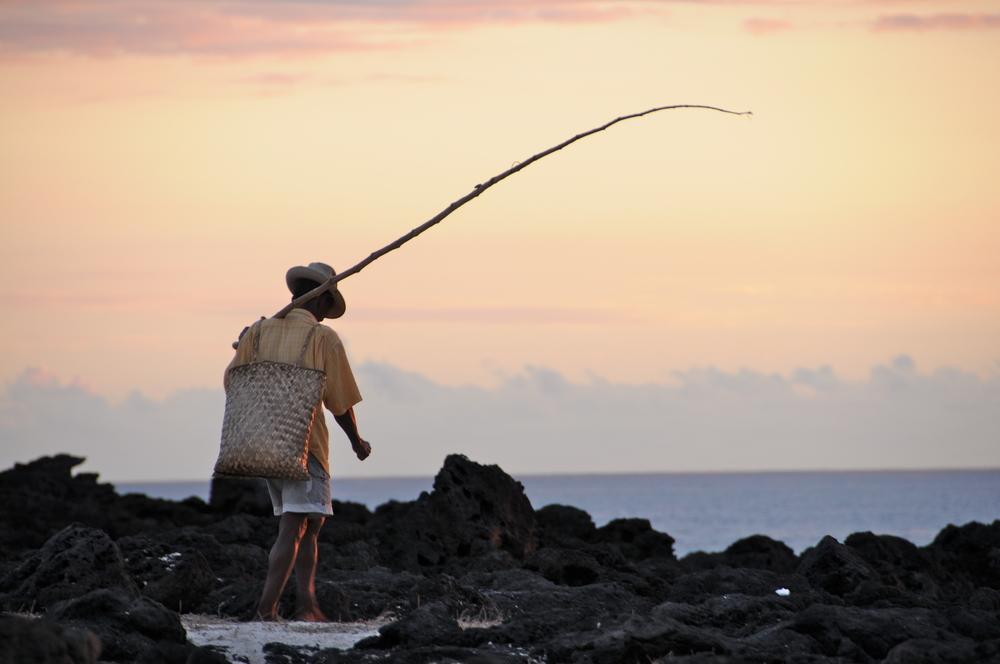L'heure de la pêche