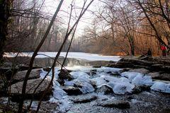 l'hiver sur la petite cascade!