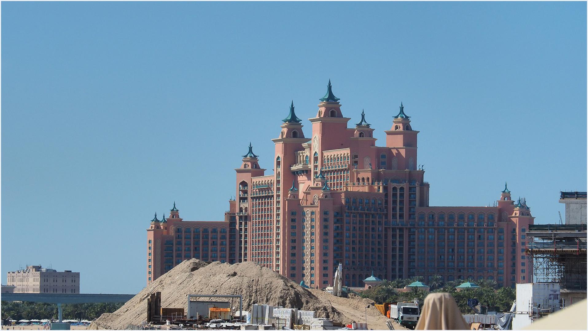 L'Hôtel Atlantis, et ses 1539 chambres