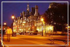 L'hôtel de Ville de Paris chez noir