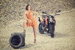 Liana - Motorradshooting
