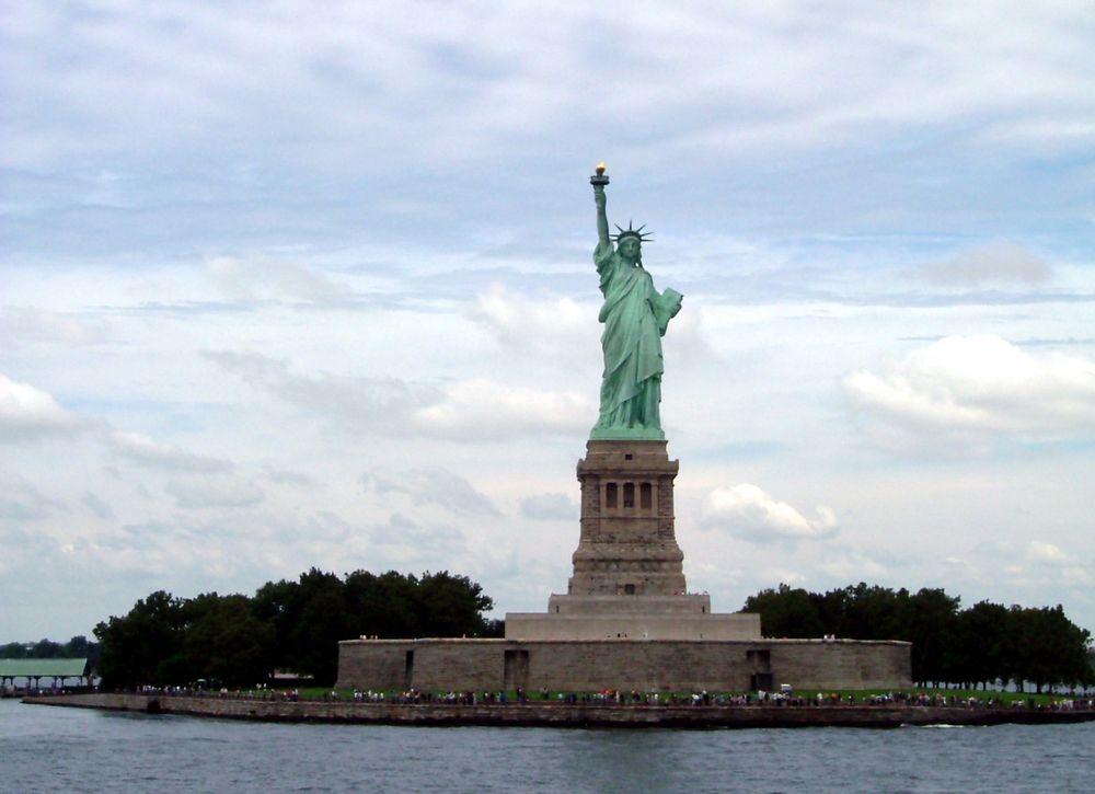 Liberty Island - Freiheitsstatue in New York
