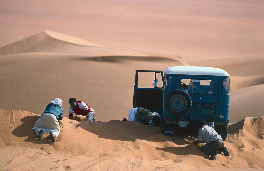 LIBYEN Sabratha LIBYEN Toyota ausgraben-2
