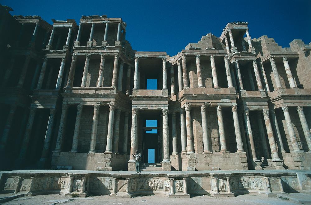 LIBYEN Sabratha Theater
