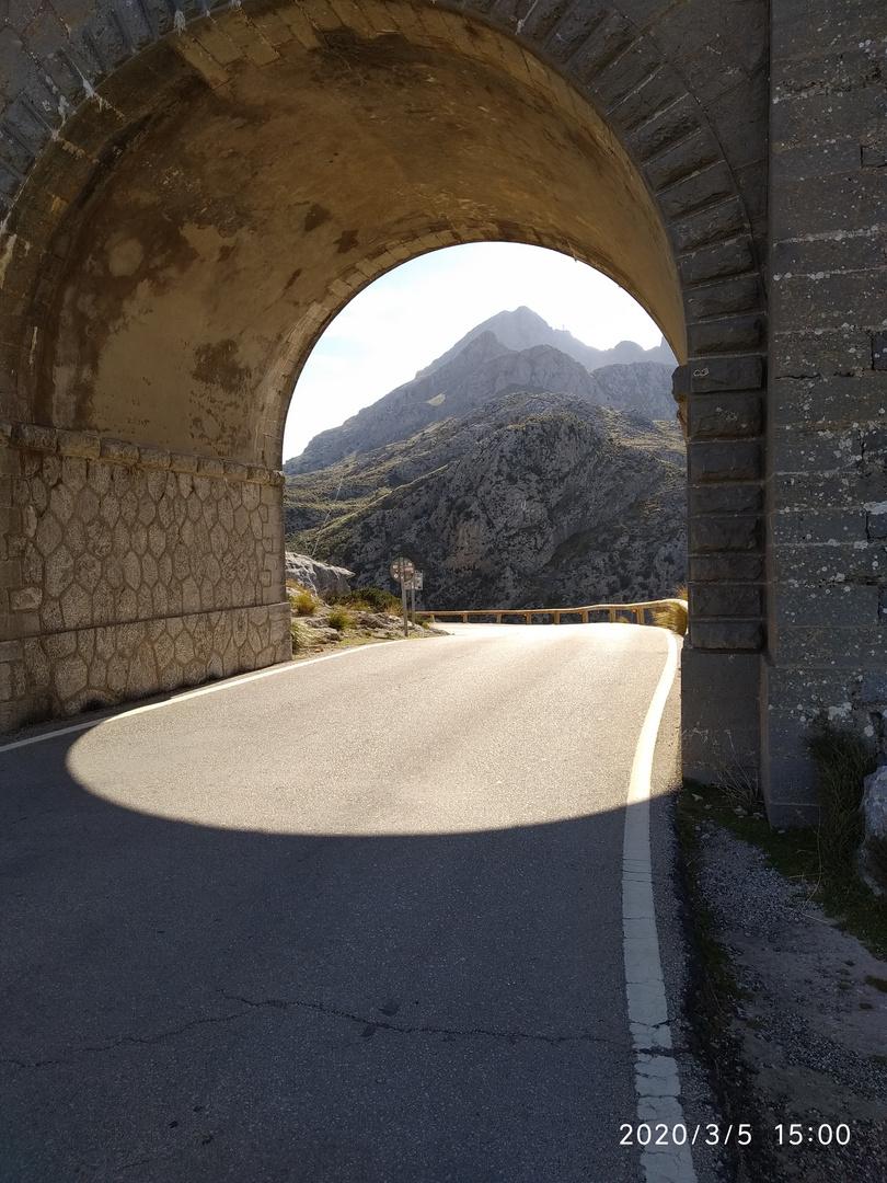 Licht am Anfang des Tunnels