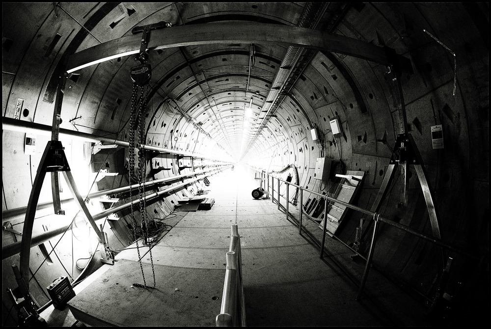 Licht, am Ende des Tunnels